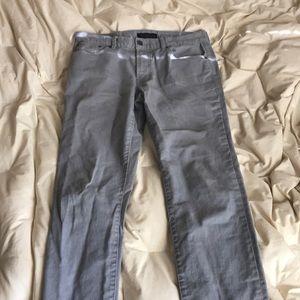 Men's Aeropastale Gray Skinny Jeans